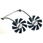 Вентилятор для видеокарты FirstD fd9015u12s 90 мм