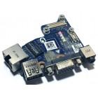 Плата аудио, USB, VGA и LAN для Dell Latitude E6430, б/у
