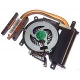 Система охлаждения для Sony Vaio SVE15, SVE1512H1RB, SVE151J11V, SVE151D11V, б/у