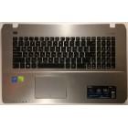 Топкейс, клавиатура и тачпад для Asus K750J, X750J, б/у