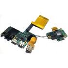 Платы USB, аудио, LAN и сим-карты для Sony Vaio VPCZ, VPCZ2, б/у