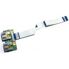 Плата USB для HP Pavilion DV6-1000, DV6-2000, б/у
